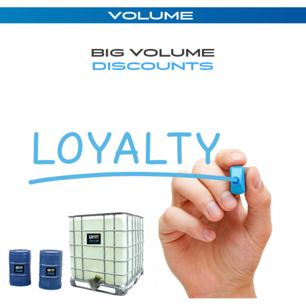 Volume - For big consumers