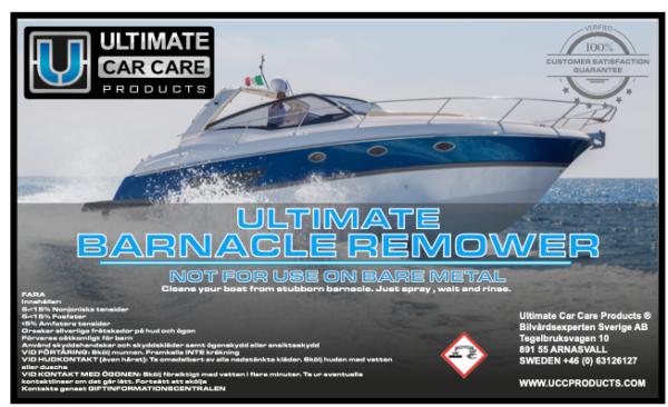 Ultimate Barnacle Remover - Snäckborttagare